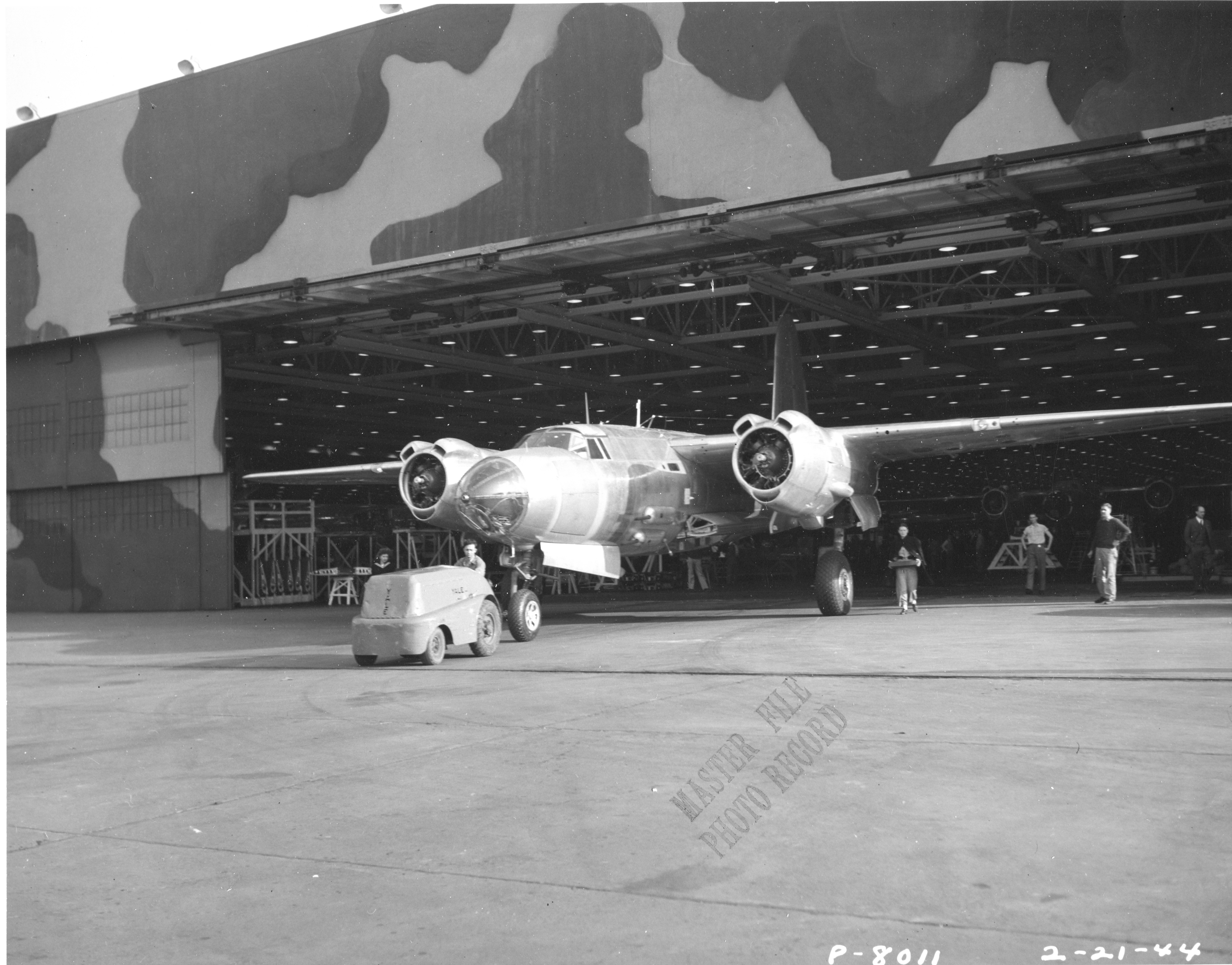 P-8011-B-26F-1 Final Assm Plt II 2-21-44